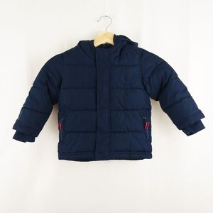 Old Navy Puffer Hooded Jacket 3T
